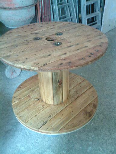 Transformer Table Basse En Banc – Phaichicom -> Transformer Un Touret En Table Basse